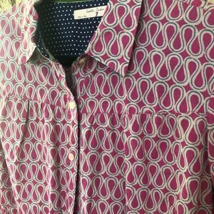 🌻NWOT ANTHRPOLOGIE Isabella Sinclair shirt